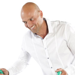 Ralph Henning, Leiter des Malerbetriebs Ralph Henning